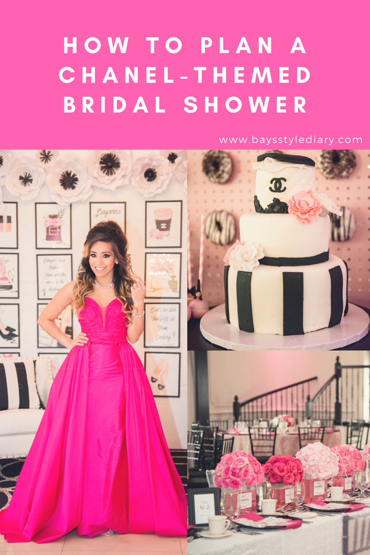 this past weekend took place one of the most amazing days of my life my chanel themed bridal shower took place at the gramercy in hazlet