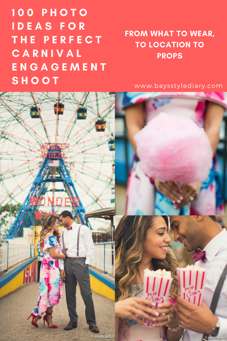 how to plan a perfect carnival engagement shoot bay s style diary