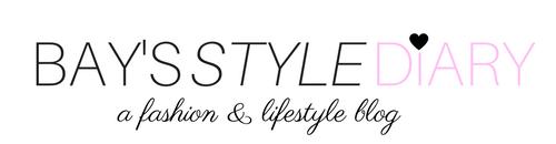 Bay's Style Diary